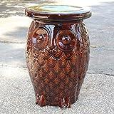 Cheap International Caravan Catalina Wise Owl Ceramic Garden Stool