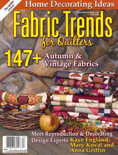 Fabric Trends, Fall 2008 - Magazine Trends Fabric