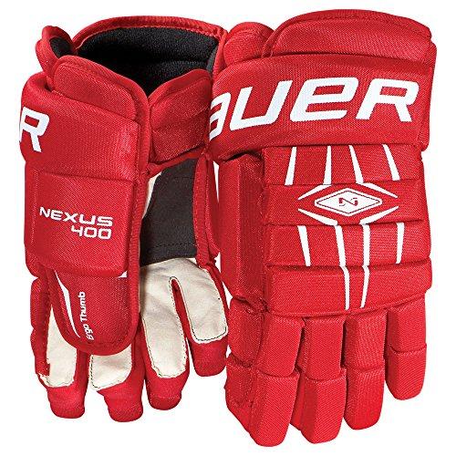 Bauer Senior Nexus 400 Glove, Navy, 14