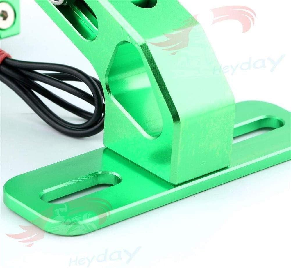 Color : Army Green CB600F CB600 CB250 CB900F CB300R CB300F CB250F CB650F CB500F 125 CB1000R CB1100 MSX plaque dimmatriculation couverture et Led