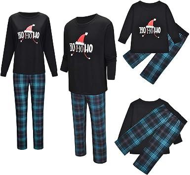 2019 Conjunto De Pijamas Navideños Familiares A Juego Pijamas ...