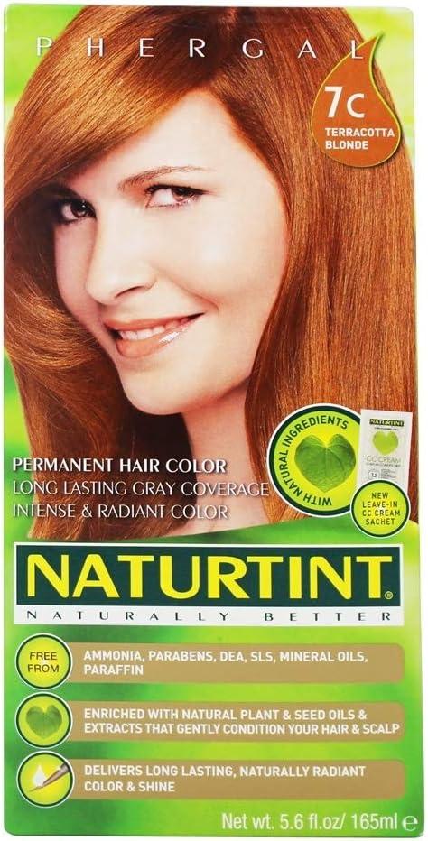 Naturtint tinte de pelo, terracota Rubio, 150 ml