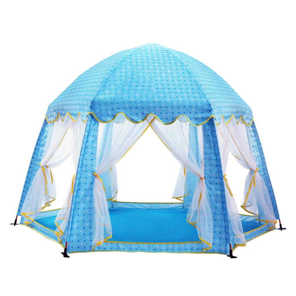 ZPHWH-E HWH Anti-Moskito-Zelt, Innen-und Outdoor-Kind Castle Dream Game House Baby Falten Jungen und Mädchen Split-Bett Artefakt 177  110CM Spiel Haus