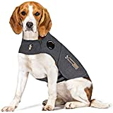 Thundershirt TH00116 Dog Anxiety Treatment Wrap, Medium, Heather Grey
