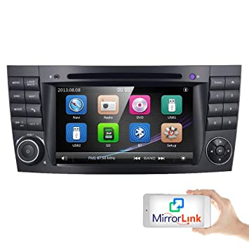Wonderlijk Auto GPS DVD USB SD Bluetooth Autoradio 2 Din NAVI für Mercedes MD-52