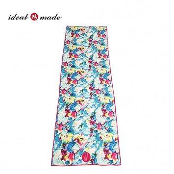 RCFRGVVEVCF Yoga Mat Non Slip Yoga Mat Cover Towel Blanket ...
