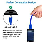 2 Pack 10 Ft PS4 Controller Charging Cable,Charge