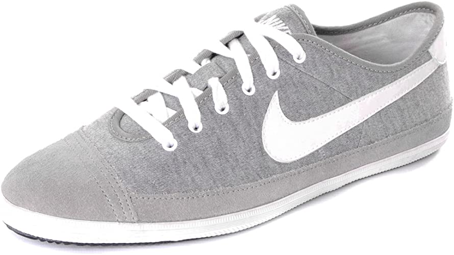 Nike Flash Low Canvas Trainers - Grey