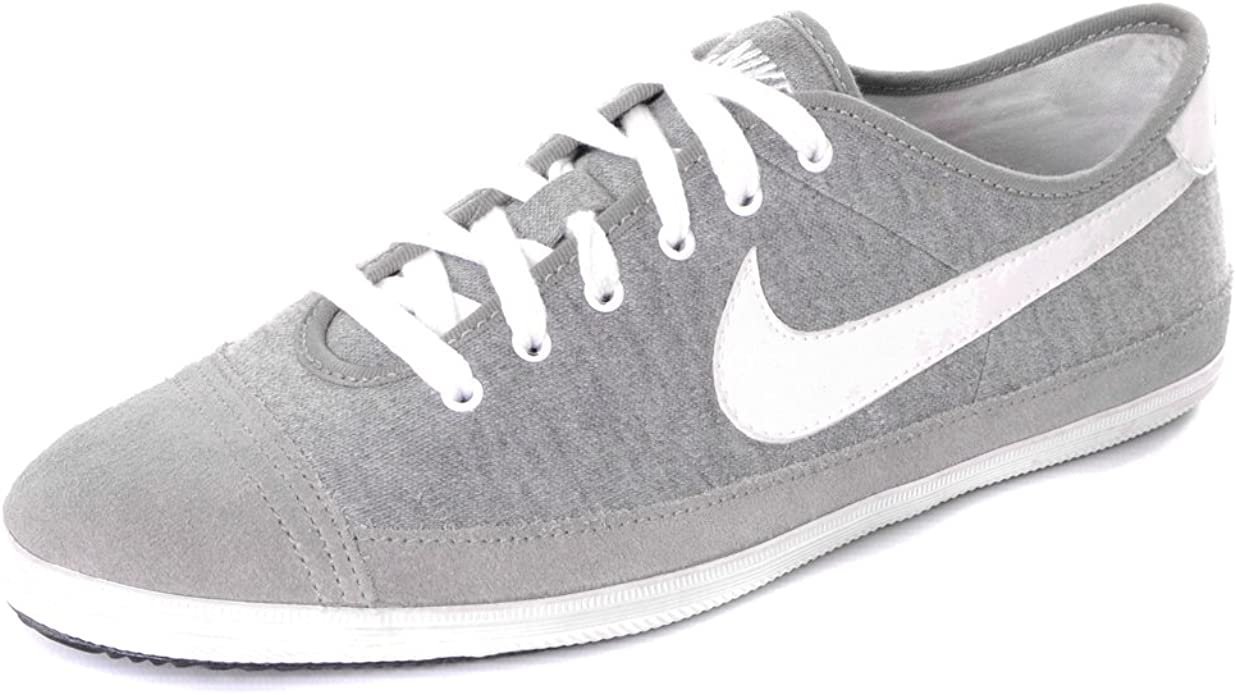 oscuridad auricular sustantivo  Nike Flash Low Canvas Trainers - Grey/White UK6.5: Amazon.co.uk: Shoes &  Bags