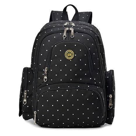 Bolsa de pañales mochila moda multi-función gran capacidad ...