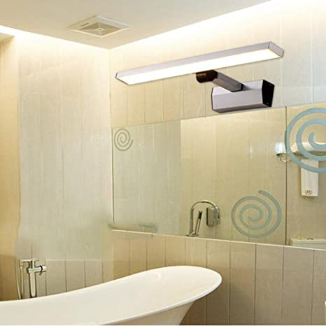 HOMEE Lámparas de espejo de baño- (poste de luz retráctil) lámpara de espejo led / lámpara de ...