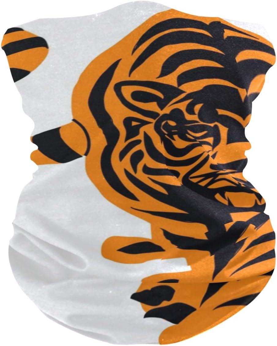 LORONA - Máscara de tigre antigoteo, protección solar, transpirable, para deportes al aire libre