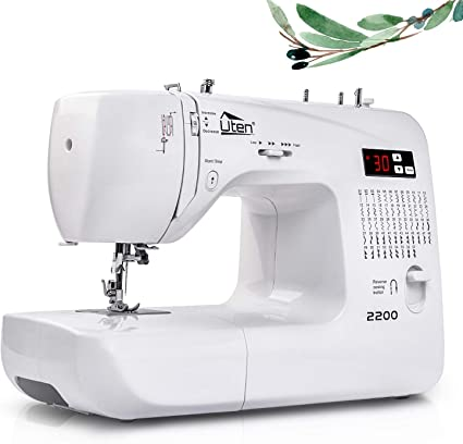 Máquina de Coser Portatil Electrica 60 Puntadas maquina coser manual con Luz de LED: Amazon.es: Hogar