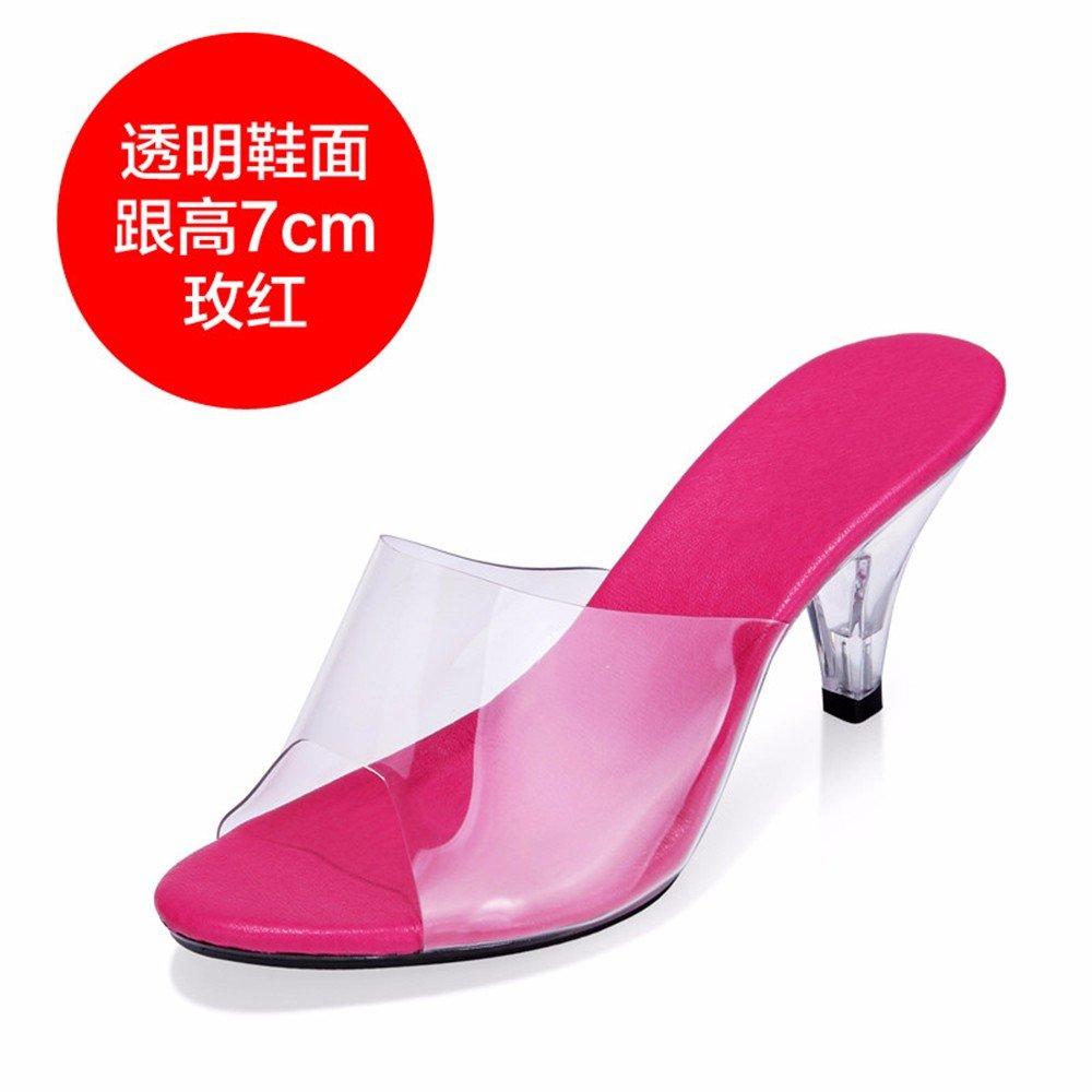 FLYRCX Damen Sommer sexy Persönlichkeit Mode hoch mit Sandalen Schuhe Schuhe Schuhe 97020e