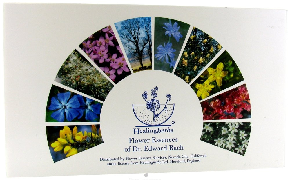 FLOWER ESSENCE SERVICES Healing Herbs Practitioner Kit, 40 Count