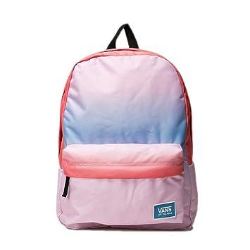 Mochila Vans - Realm Classic Backpack Gradient azul/coral/rosa: Amazon.es: Deportes y aire libre