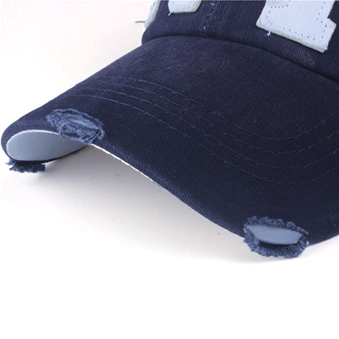 Unisex Fashion Cotton Baseball Cap Snapback hat for Men Women Sun hat Bone Gorras ny Embroidery Spring Cap at Amazon Mens Clothing store: