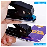 Low Force One Hole Punch,2 Packs.20 Sheets Punch