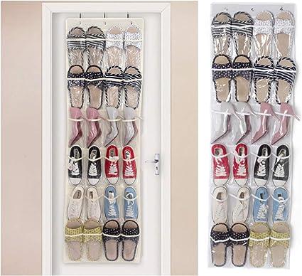 Tianher 2 Piezas Organizador de Zapatos para Colgar de la Puerta ...