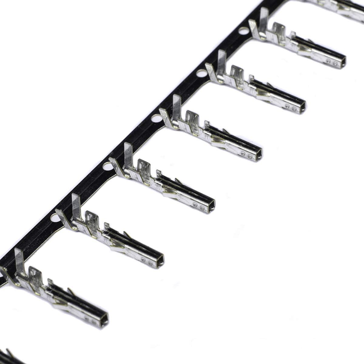 EPS and PCIE Connectors Molex Mini Fit Jr 16awg Female Crimp Terminal for ATX 100-pack