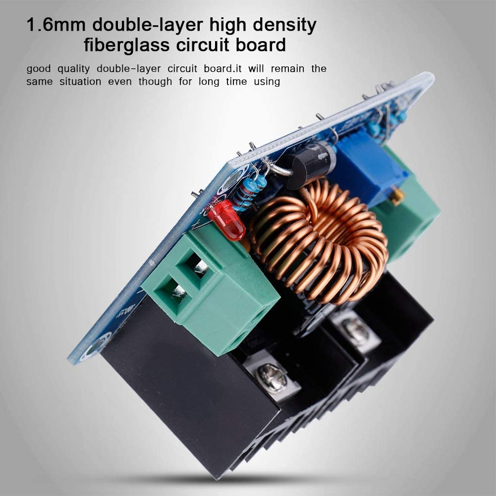 Zer one Step-Down Module Kit DC-DC 4-40V 1.25-36V Max 8A Adjustable PWM Buck Step-down Power Supply Module