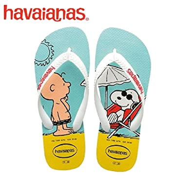 db2375d296e6d Image Unavailable. Image not available for. Color  Havaianas Mens Snoopy  Sandal White White
