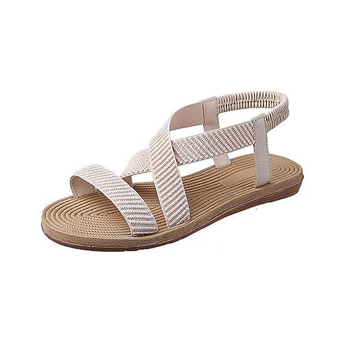 9d2cd2e061f7 Flat Sandals Women Casual Shoes Pregnant Women Shoes  Amazon.co.uk  Shoes    Bags