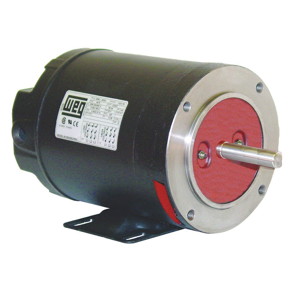 WEG 01518OT3E254TC-S Severe Duty & General Purpose NEMA Premium Electric Motor, Cast Iron Frame, 15 HP, 3-Phase, 1775 RPM, 208-230/460 V, 50/60 Hz, Frame 254/6TC