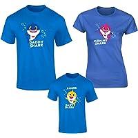 Playera Baby Shark kit Familiar 3 pzas