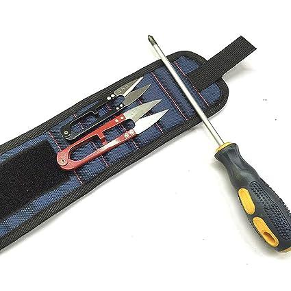 Pulsera de cierre magnético con 5 imanes potentes destornillador y ...
