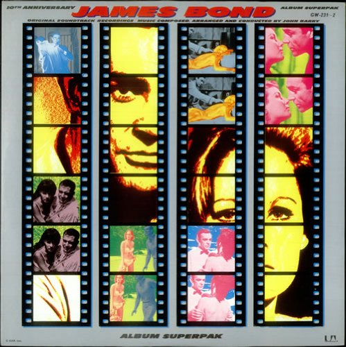 Original album cover of 10th Anniversary James Bond Superpak by James Bond themes