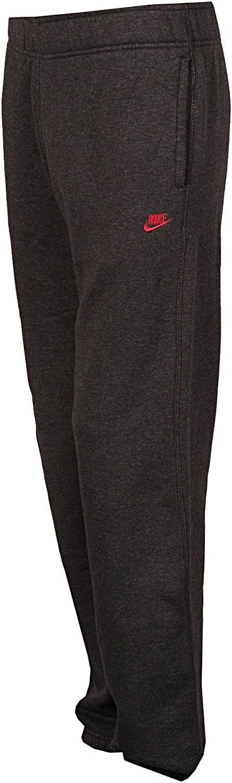 Nike - Pantalones para Hombre, tamaño L, Color Dunkelgrau/Rojo