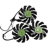 75MM PLD08010S12H T128010SU Cooler Fan for GIGABYTE AORUS GTX 1060 1070 Ti 1080 Ti G1 Gaming GV-N98T GTX 980 970 960…