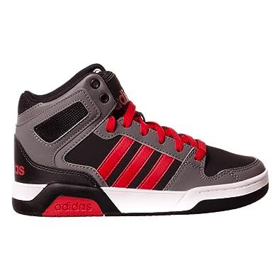 buy popular 965ae b8b0e adidas Bb9Tis Mid K Chaussures de Fitness Mixte Enfant, Multicolore -  Noirécarlate