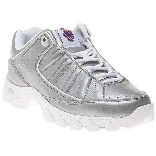 K-Swiss St529 Heritage Mujer Zapatillas Silver: Amazon.es: Zapatos y complementos