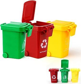 Bruder Zubehör Mülltonnen-Set 3 kleine 1 Große Tonne Spielzeug Container Kid