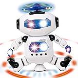 360 rotation du robot électrique, danseurs éblouissants robot de% 2C fraîche danse brise jouet chantant enfants enfants cadeau avec musique légère intelligent jouet