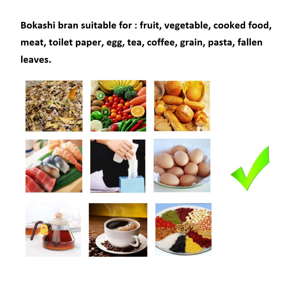 Compostador de Cocina Bokashi Eco de Material Grueso (12 L x ...