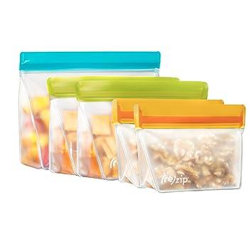 Rezip Pack n' Go Reusable Sandwich Bag