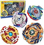 OBAST Beyblade Burst High Performance Attack Battling Set Toy 4D Launcher with Launcher and Arena Included