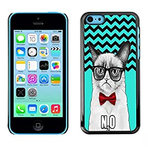 Dragon Case - FOR iPhone 5Cs - Love keeps the cold out - Caja protectora de pl??stico duro de la cubierta Dise?¡Ào Slim Fit