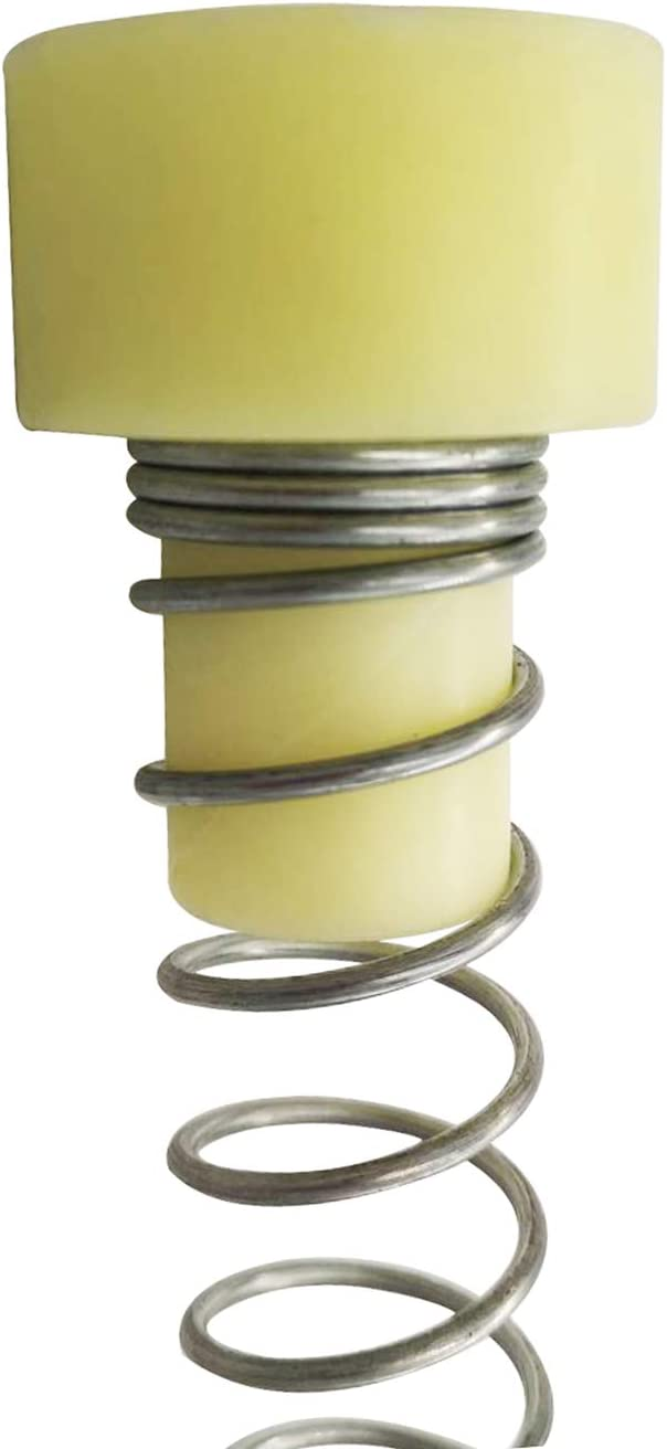 Impact Spring Zipline Stopper,6Ft Extra Long Zip Line Brake System,Heavy Duty Galvanized Steel Zipline Stop Spring with Special Buffer Plug for 3//16 1//4 5//16 3//8 Inches Cable