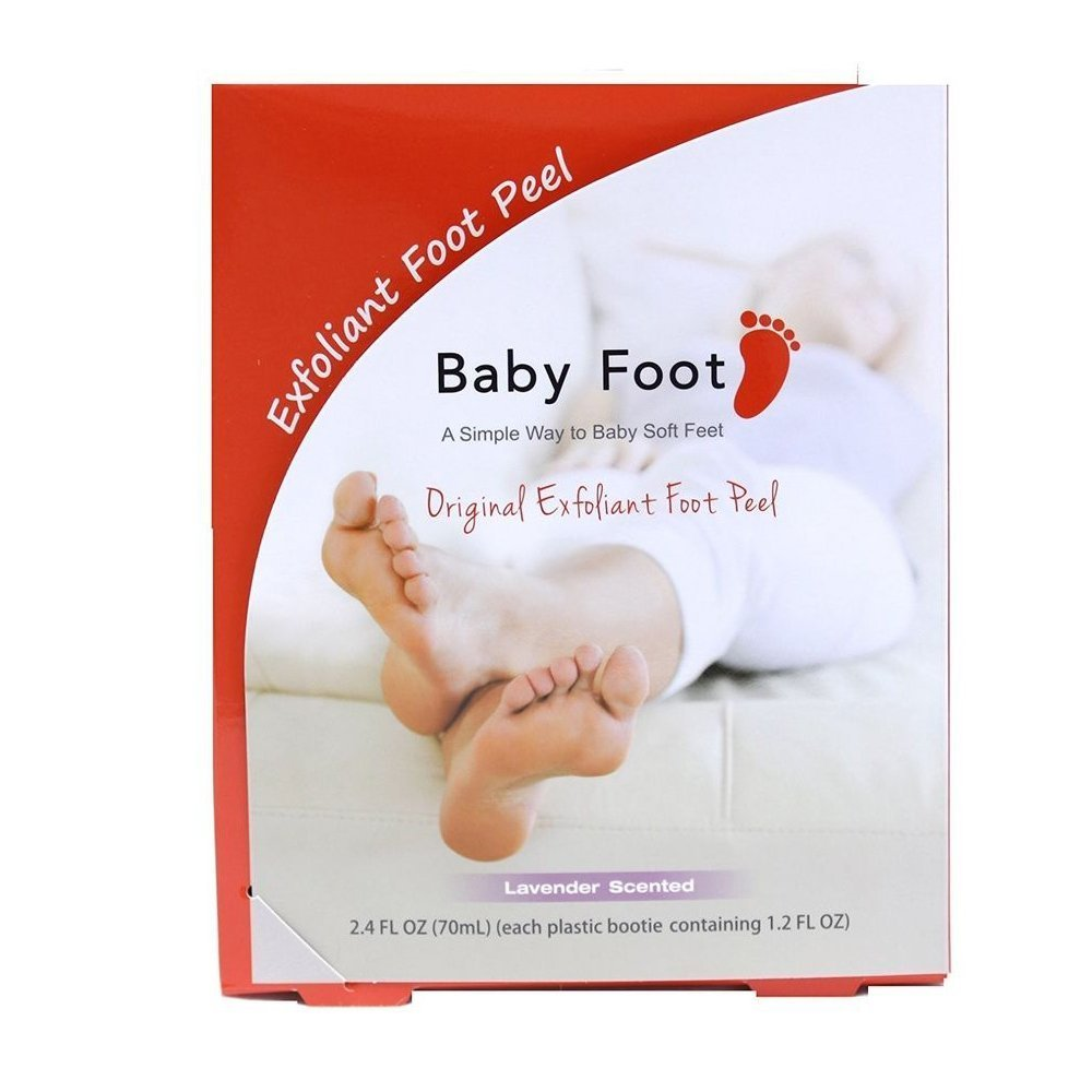 Baby Foot Exfoliant Foot Peel, Lavender Scented, 2.4 fl oz.