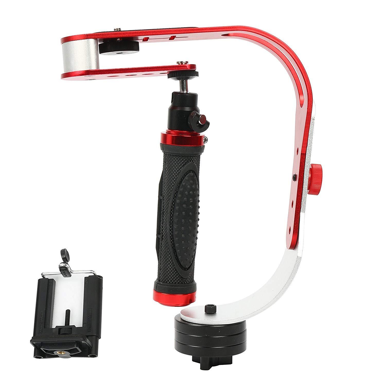 Yaekoo Handheld Video Camera Stabilizer Steadicam Steady for GoPro, Smartphone, DSLR, Camcorder, Canon, Nikon, Digital Camera or Any Camera up to 2.1 lbs. Yaemart Corporation