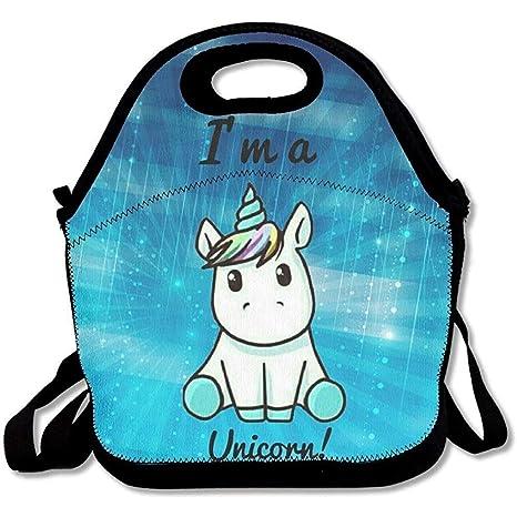 I Am A Unicorn - Bolsas de almuerzo de neopreno grandes y ...