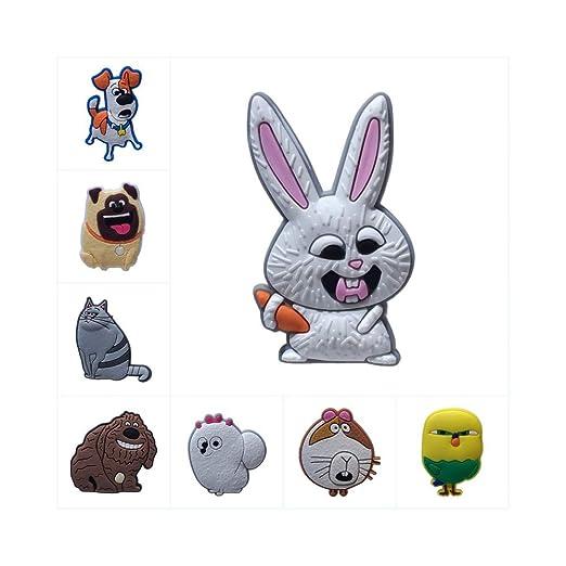 BAWANGLONG 1 unids La Vida Secreta de Mascotas de Dibujos Animados ...