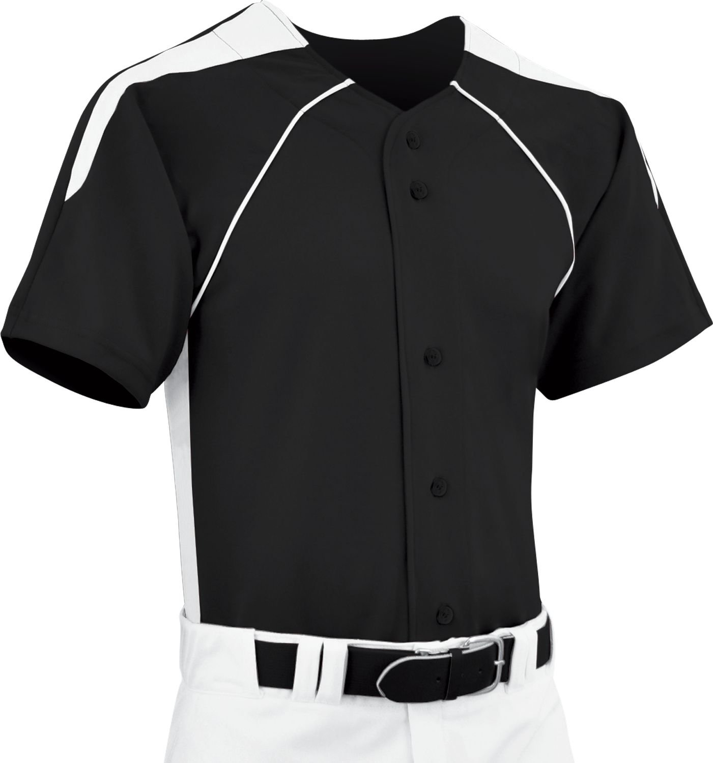 Champro Youth dri-gear Full Button Baseball Jersey B0711M232L