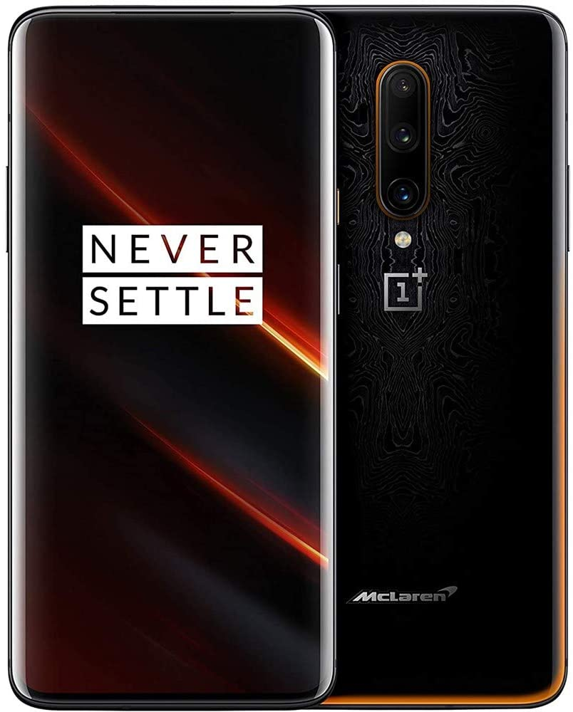 OnePlus 7T Pro 5G McLaren Edition US Model HD1925 12GB RAM 256GB ROM T-Mobile Unlocked Single SIM