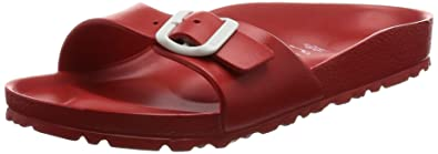 6dcc0945bd27 Birkenstock Women s Madrid Eva Red Clogs and Mules  Amazon.co.uk ...