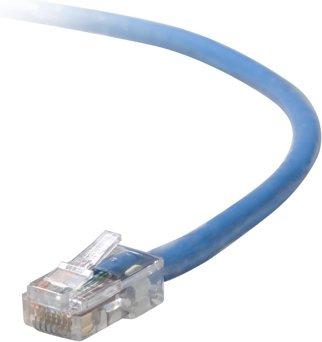 SMB 1x8 B2B RJ-45 Belkin A3L791-05-BLU Patch cable - RJ-45 M M CAT 5e blue for Omniview SMB 1x16 UTP OmniView IP 5000HQ OmniView SMB CAT5 KVM Switch - 5 ft